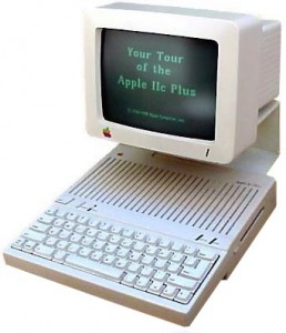 The Apple IIC Plus computer 1988